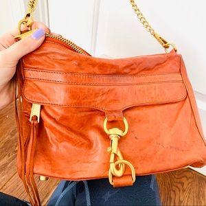 Rebecca Minkoff | M.A.C Orange Leather Orange Bag